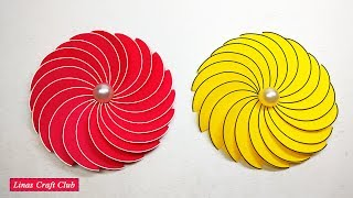 How to Make Christmas Ornaments with Paper | Diwali Decoration Idea with linascraftclub