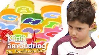Schule ist blöd! Wieso rastet Tobi (6) in Deutsch immer aus? | Die Familienhelfer | SAT.1 TV