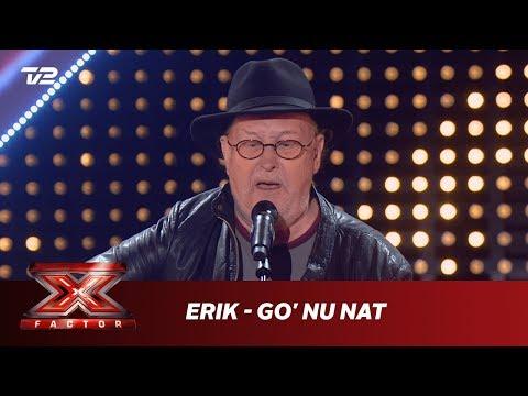 Erik synger 'Go' Nu Nat' - Poul Dissing (5 Chair Challenge) | X Factor 2019 | TV 2