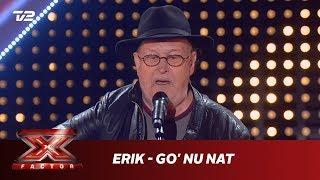 Erik synger 'Go' Nu Nat' - Poul Dissing (5 Chair Challenge)   X Factor 2019   TV 2