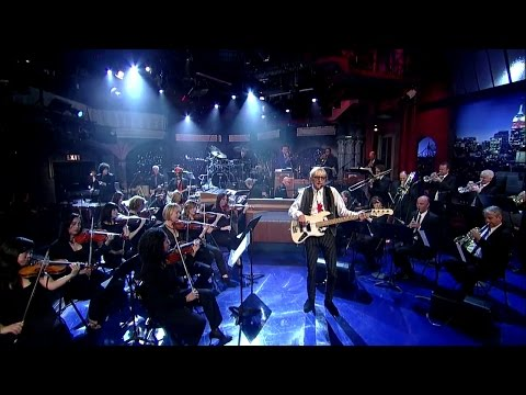 MacArthur Park on Letterman HD feat. Will Lee