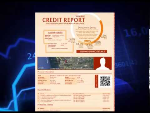 Online Credit Report Launch in Sri lanka