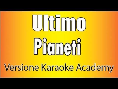 Karaoke Italiano - Ultimo - Pianeti