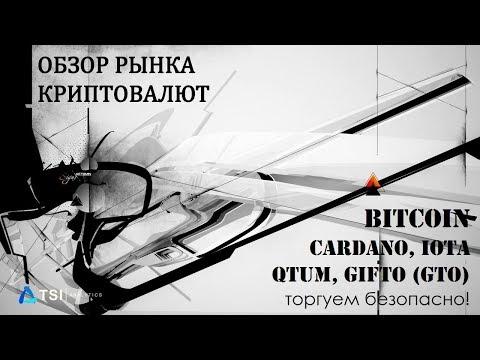 Bitcoin, QTUM, IOTA, Cardano, Gifto (GTO)   Прогноз Биткоина/Криптовалют от TSI Analytics