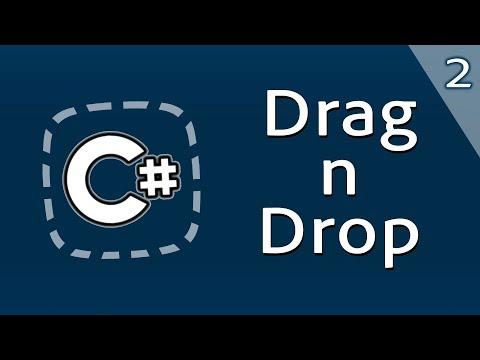 Уроки C# – Рисуем пунктирную зону Drag And Drop – Часть 2 – C#