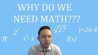 Why Do We Study Math?