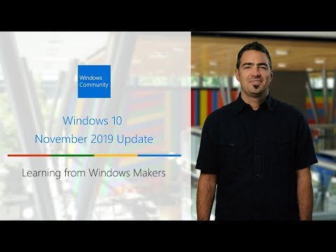 How To Get The Windows 10 November 2019 Update