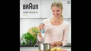MQ523 Video2 MultiQuick 5 Baby Food Maker and Hand Blender