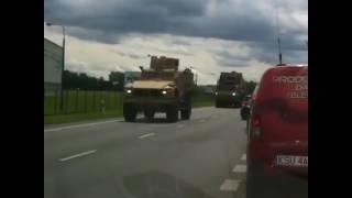Военная техника на границе с Украиной