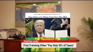 IRS Tax Forgiveness Program Let