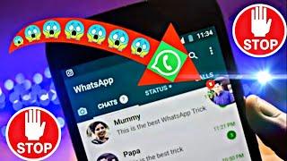 كيفية اظهار رسائل الواتساب مثل الماسنجر بشكل فقاعات😍🤩🥰/أكتشف معنا الطريقة في هذا الفيديو❤️🧐😉 screenshot 4