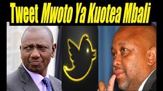Gachoka Tweet To DP Ruto About His Stolen Funds Shocks Kenyans
