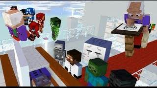 Monster School Special  RIP Mr. Stan Lee Goodbye and thank you - Minecraft Animation