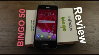 Infocus Bingo 50 review, benchmark, unboxing, gaming, battery