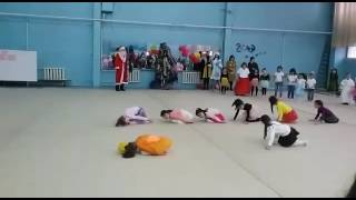 Сюзи. Новый год. Худ.гимнастика, Шымкент 2016