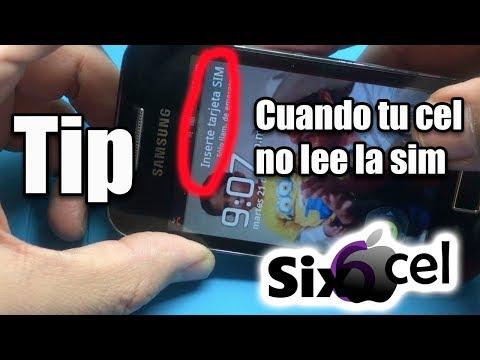 Si tu celular no lee el chip *puedes usar este tip*