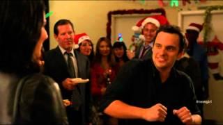 New Girl Lap Dance from S02E11 Santa