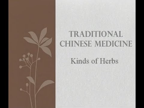 Kind of Herbs Part 1 - Traditional Chinese Medicine and Acup