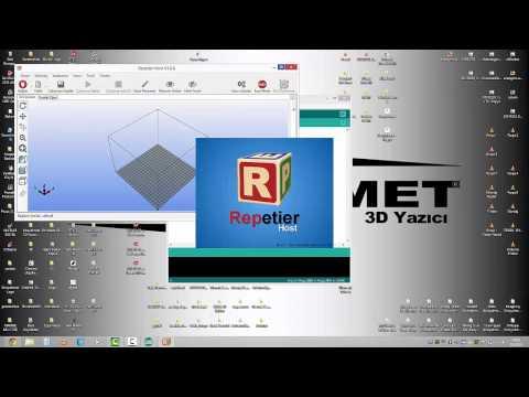 3D Yazıcılara Firmware Yükleme