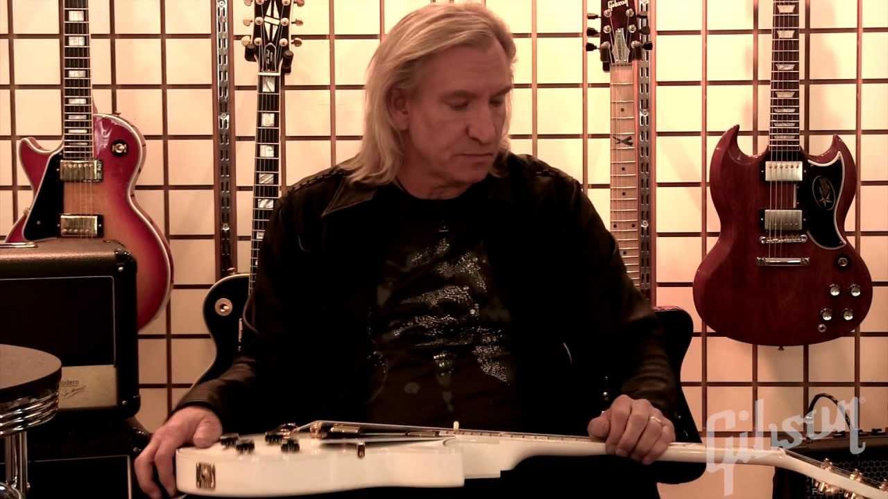 gibson guitar tutorial joe walsh guitar setup part 1 of 6 youtube. Black Bedroom Furniture Sets. Home Design Ideas