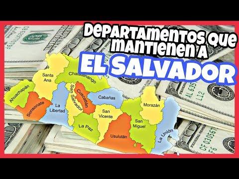 LOS DEPARTAMENTOS MÁS IMPORTANTES DE EL SALVADOR ~ Chiconan