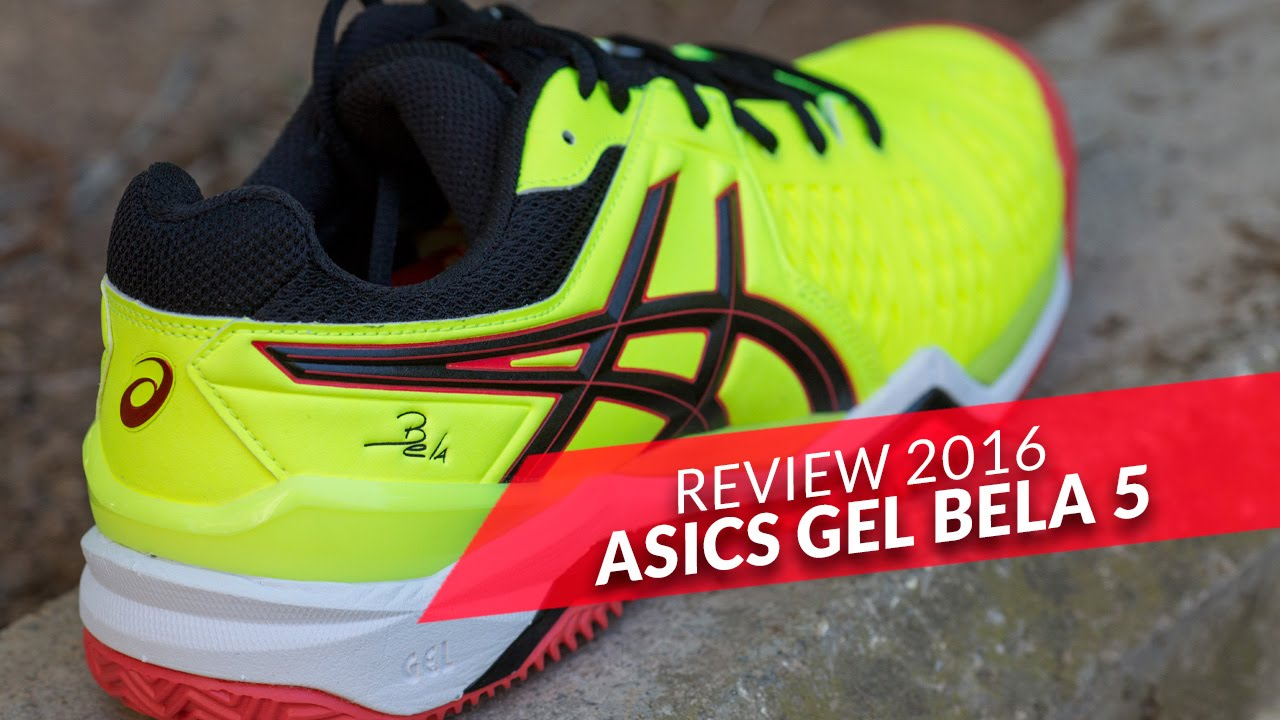 be69b769a Review Asics Gel Bela 5 SG 2016 Amarillas - YouTube