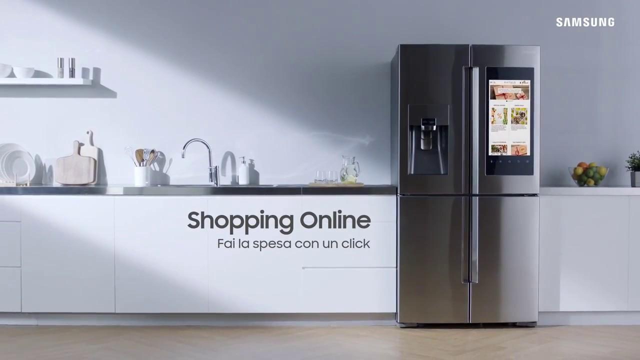 Samsung Family Hub™ - Cambia la tua idea di frigorifero. - YouTube
