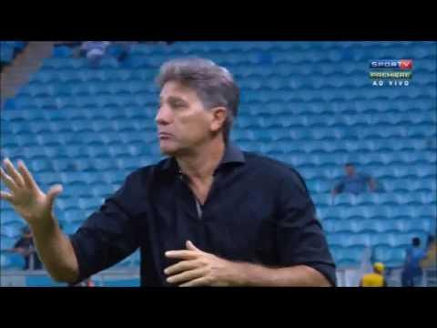 Grêmio 1x0 América MG primeira  liga 2 tempo completo
