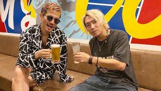 YouTube動画:EXILE ATSUSHIさんがBARを閉める最終日に来てくれて飲んで語りました。
