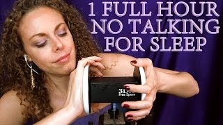 ZZzzzzz….. 1 Hour ASMR Ear Massage No Talking w/ Oil & Lotion For Sleep