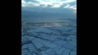 Irish Coast Guard Helicopter Flight over the Snowy South East (Ireland)