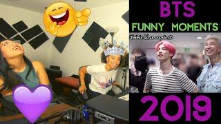 BTS cute moments 2019 (Don't love BTS Challenge!) - The Fam Girls Reaction