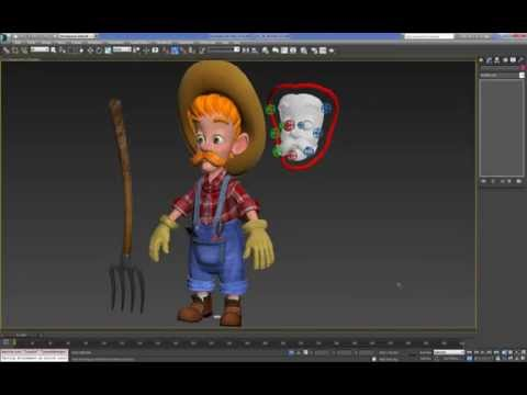 Cartoon Character For Production 3DMax (Final Character) : 02 (53)