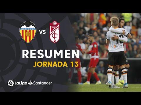 Resumen de Valencia CF vs Granada CF (2-0)