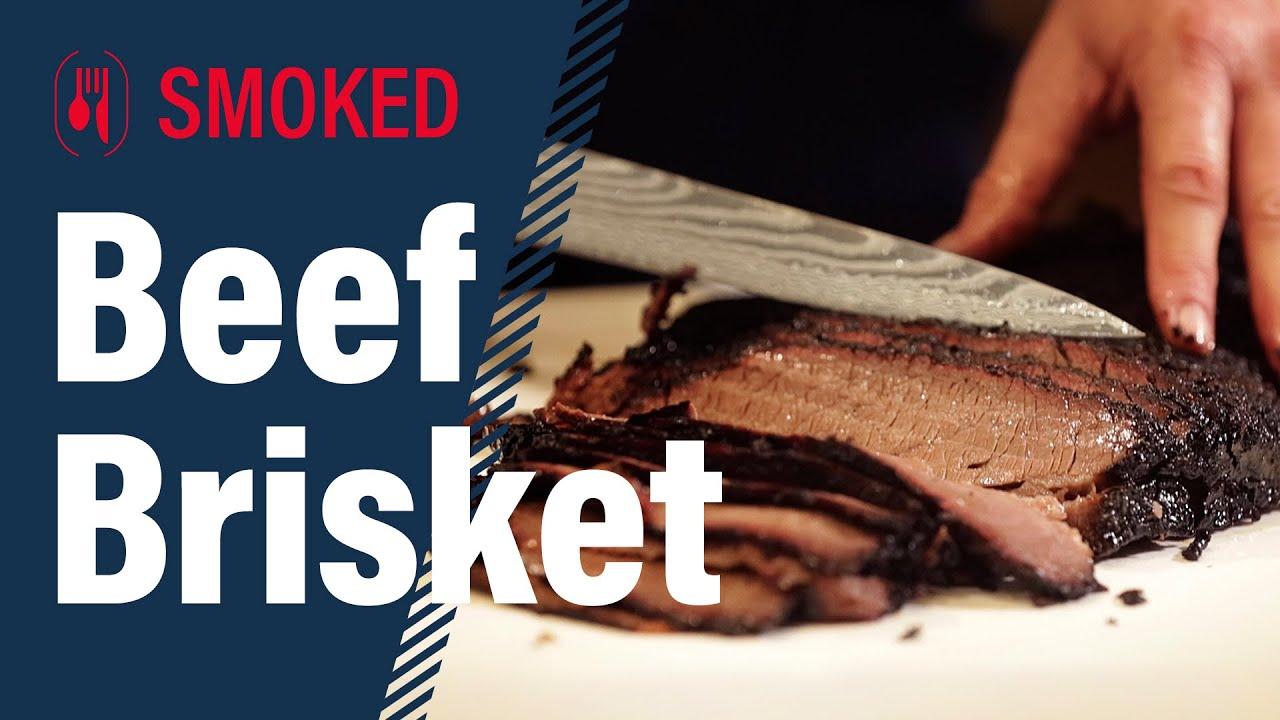 Texas Style Smoked Brisket!