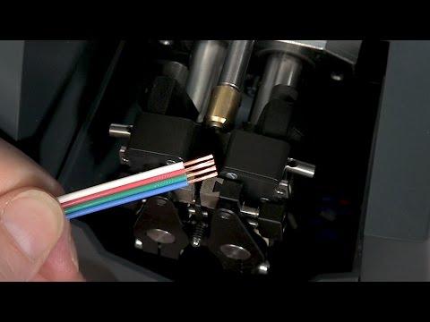 Schleuniger UniStrip 2550 Wire Stripping Machine