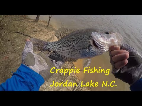 Crappie Fishing Jordan Lake North Carolina.
