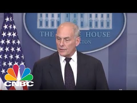 Kelly Defends Trump's Call: 'If You've Never Been In Combat, You Can't Even Imagine How To' | CNBC