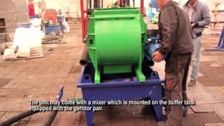 видео Смесители и героторные насосы | Винтовой насос | Полистиролбетон | Центр строительных технологий