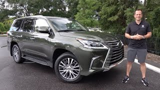 Is the 2021 Lexus LX 570 a luxury SUV worth the PRICE?