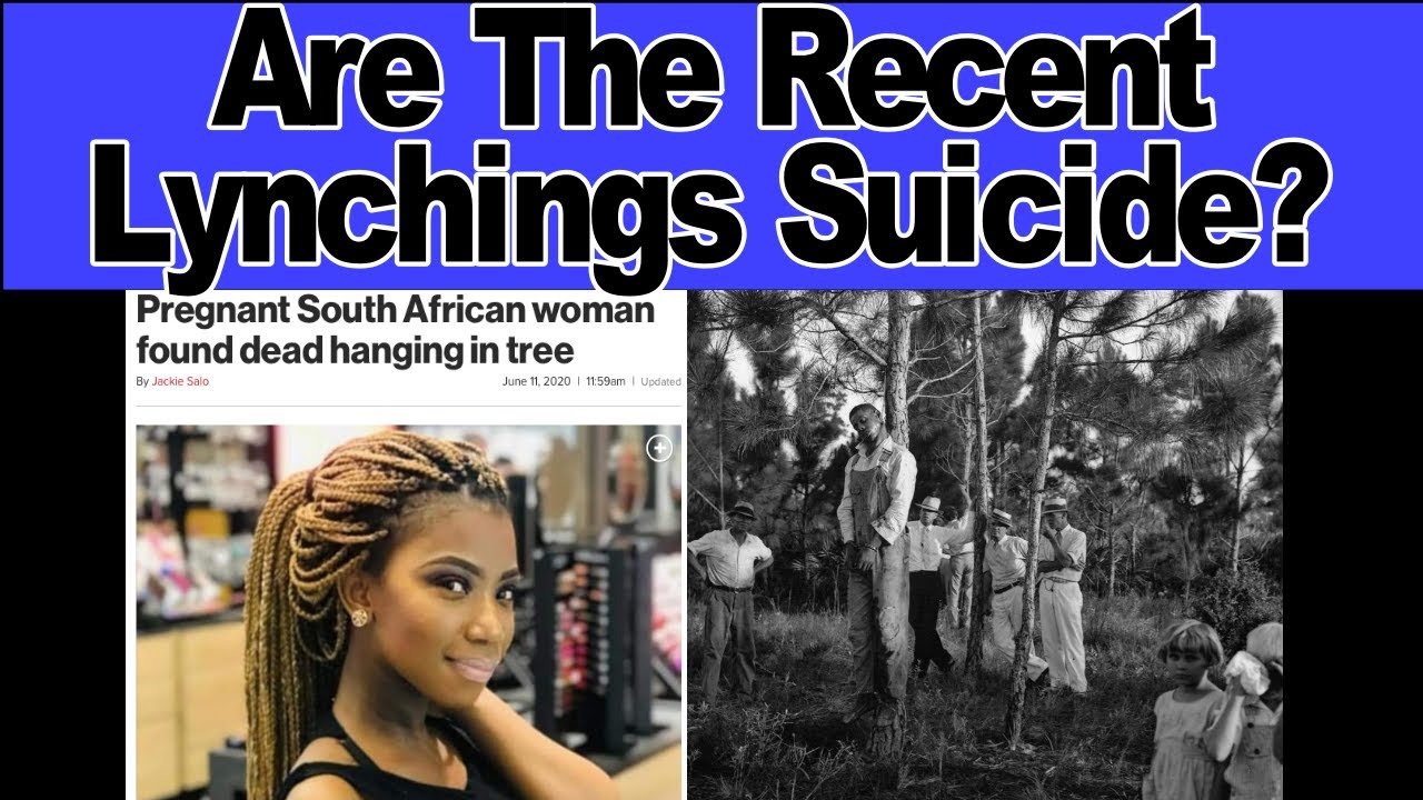 Recent Lynchings in America Got Us Triggered 😢💔