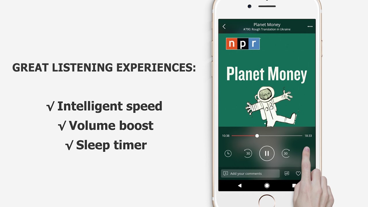 podcast download mp3 player
