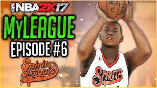 THRILLER AGAINST CURRY & WARRIORS! | NBA 2K17 EXPANSION MYLEAGUE | EP 6
