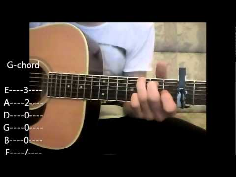 Avril Lavigne Wish you were here Guitar Tutorial - YouTube