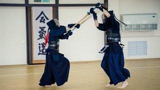 Кэндо - боевое искусство самураев. Фитнес. GuberniaTV