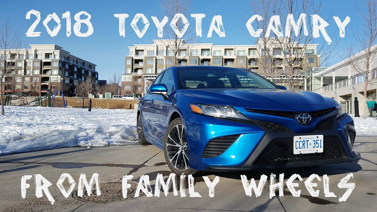 2018 Toyota Camry Review From Family Wheels