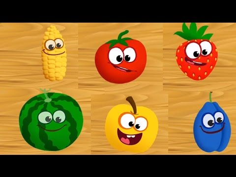 Thumbnail: Baby Learn Names of Fruits, Learn Colors, Cut The Fruits & Food Puzzles
