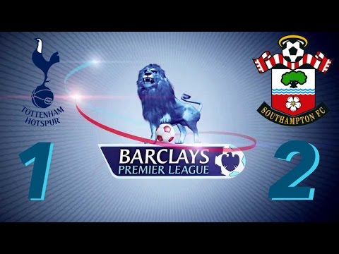 Tottenham Hotspur 1 x 2 Southampton ALL GOALS  Premier  League 08/05/2016