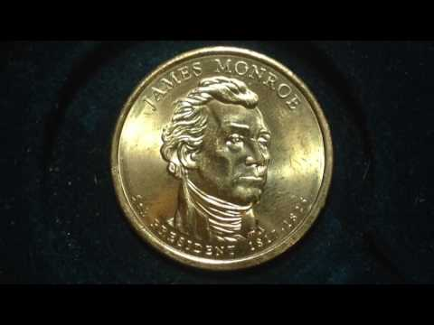 Presidential Dollar Coin: 2008 James Monroe