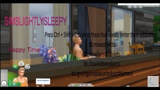The sims 4 speed build  a study.